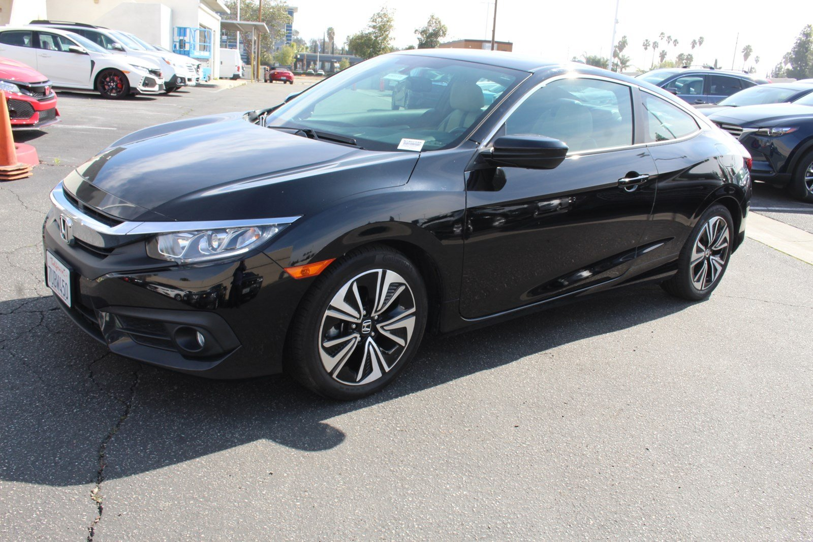 Pre Owned 2016 Honda Civic Coupe Ex L