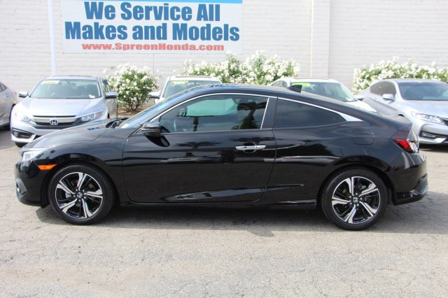 Pre-Owned 2016 Honda Civic Coupe Touring